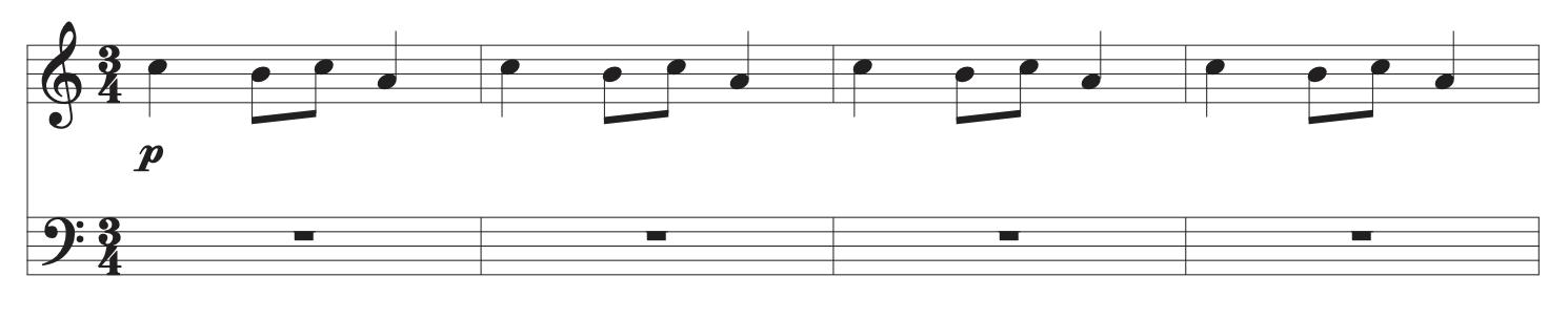 Carol Of The Bells main riff