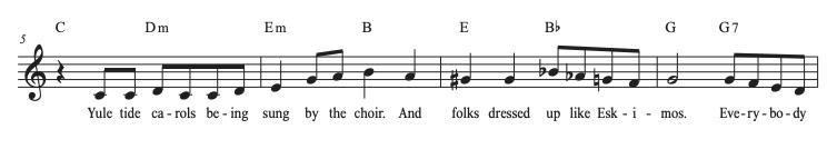 The Christmas Song Line 2